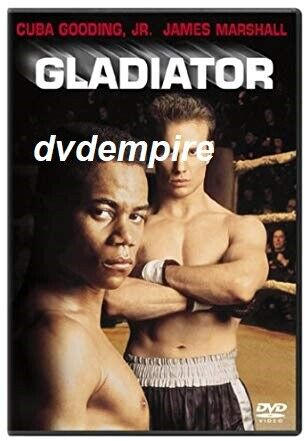 Gladiator DVD Cuba Gooding Jr James Marshall New & Sealed for Aussie DVD Players