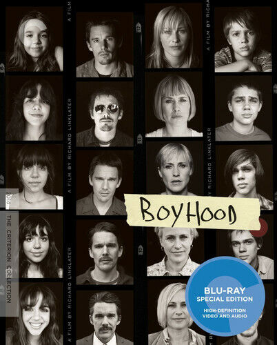 Boyhood (The Criterion Collection, 2 Disc) BLU-RAY NEW