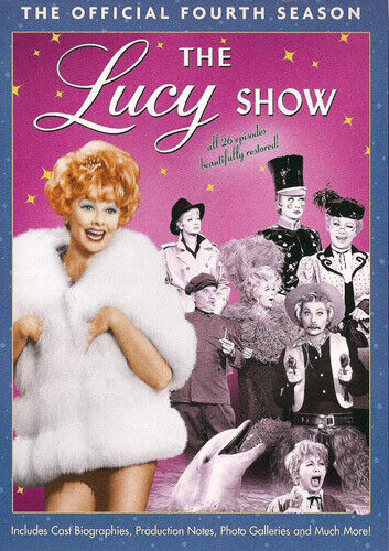 The Lucy Show: The Official Fourth Season (Season 4) (4 Disc) DVD NEW