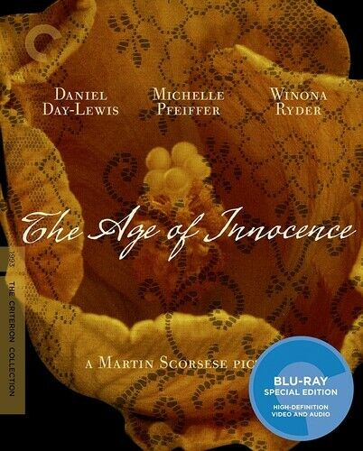 The Age of Innocence (The Criterion Collection) BLU-RAY NEW