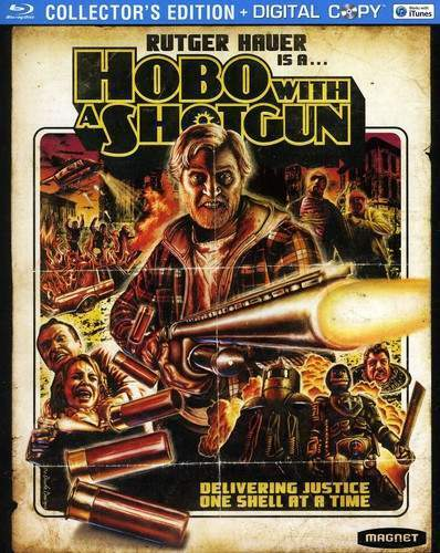 Hobo with a Shotgun (Collectors Edition) BLU-RAY NEW