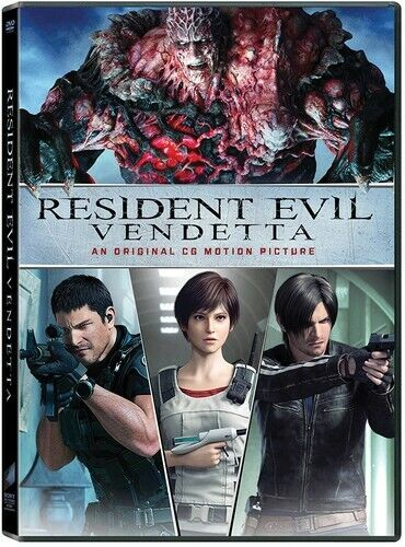 Resident Evil: Vendetta DVD NEW