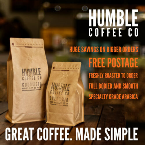 Humble Coffee Co - Colombian specialty roasted coffee beans <br/> Great coffee. Made simple