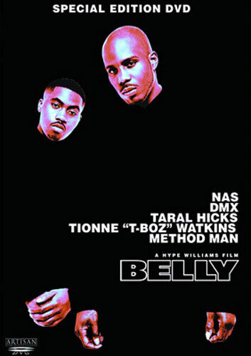 Belly (1998 Nas DMX) (Special Edition) DVD NEW