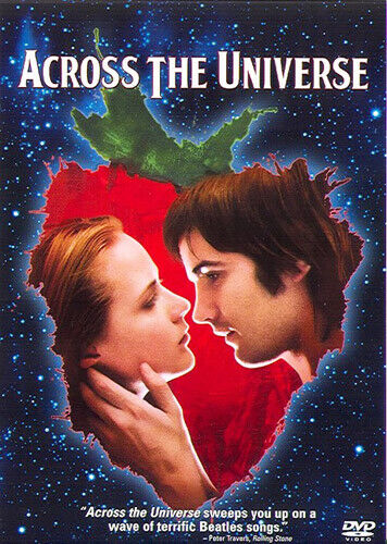 Across the Universe DVD NEW