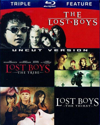 The Lost Boys 1 (1987) / 2: The Tribe / 3: The Thirst (3 Disc) BLU-RAY NEW