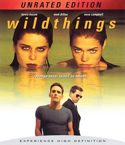 Wild Things (1998 Kevin Bacon) (Unrated Edition) BLU-RAY NEW