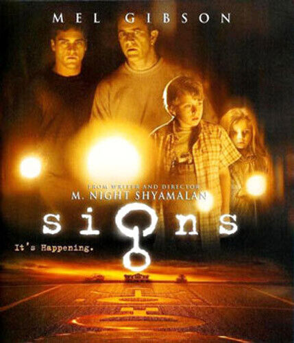 Signs (2002 Mel Gibson) BLU-RAY NEW