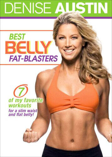 Denise Austin: Best Belly Fat Blasters DVD NEW