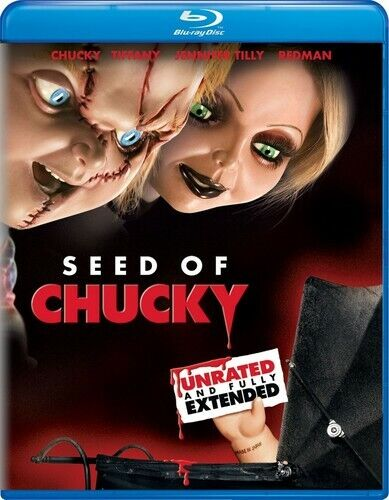 Child's Play 5: Seed of Chucky (Extended Version, Unrated) BLU-RAY NEW
