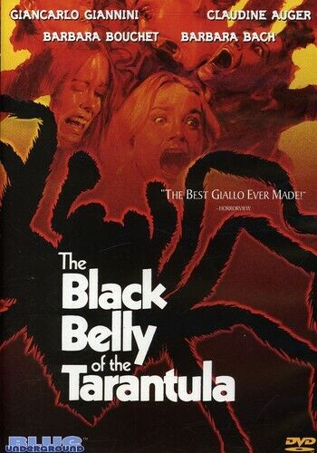 The Black Belly of the Tarantula DVD NEW