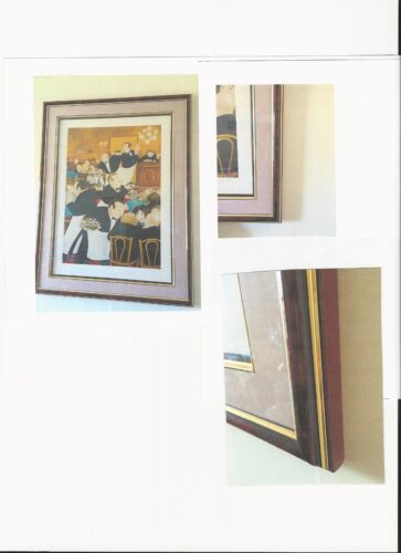 """Beryl Cook Lithograph  signed and numbered   """"Chartiers."""""""
