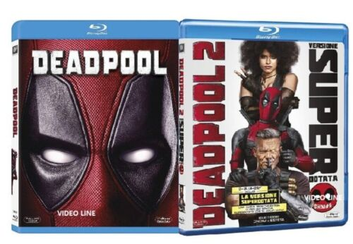 Blu Ray Deadpool 1-2 (2 Film Blu Ray) ......NUOVO