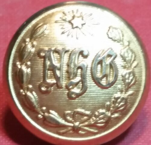 NHG NEW HAVEN GRAYS COAT BUTTON - SUPERIOR QUALITY - CIVIL WAR