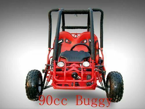 90CC TWIN SEAT BUGGY GOKART KIDS TEEN DUNE BUGGY QUAD ATV 4 WHEEL 110CC 125CC <br/> Remote Controller/Right hand drive 3 forward gears+ rev