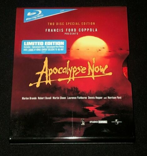 Apocalypse Now Limited Edition Metal Case BluRay - 2 Disc set Like New!