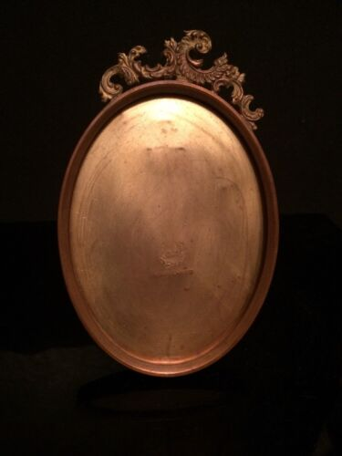 Beautiful Antique 19th c Victorian Oval Quadruple Plate Picture Frame