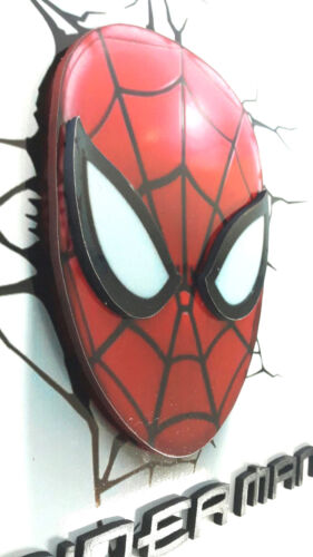 3D Spiderman Marvel Wooden Sign Hanging Decorate Wall Living Room Handmade Craft