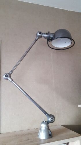 lamp industrial space age light french jielde desk sconce bauhaus articulating