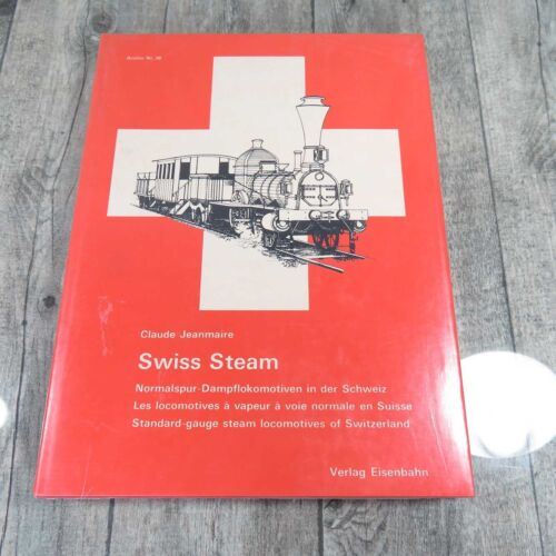 SWISS Steam - Jeanmaire  - #A42