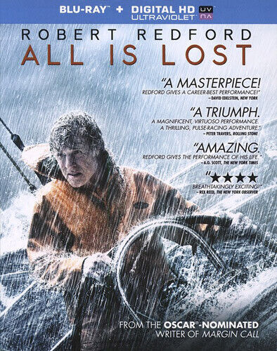 All Is Lost BLU-RAY NEW