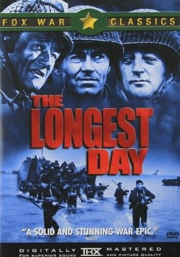 The Longest Day DVD NEW
