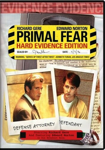 Primal Fear (Hard Evidence Edition) DVD NEW