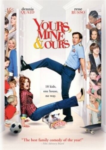 Yours, Mine and Ours (2005 Dennis Quaid) DVD NEW