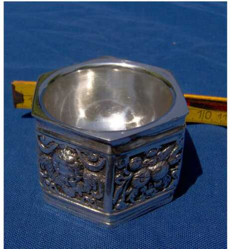 POZZETTO IN ARGENTO 800 - OLD SILVER CONTAINER