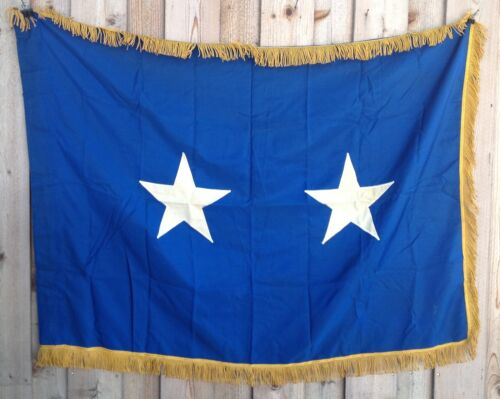"""Vintage United States Air Force Major General Stitched Official Flag, 36"""" X 51""""Air Force - 66528"""