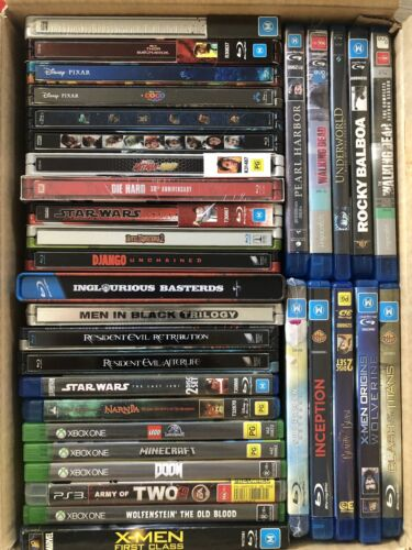 Blu Ray and Blu Ray Steelbook Collection