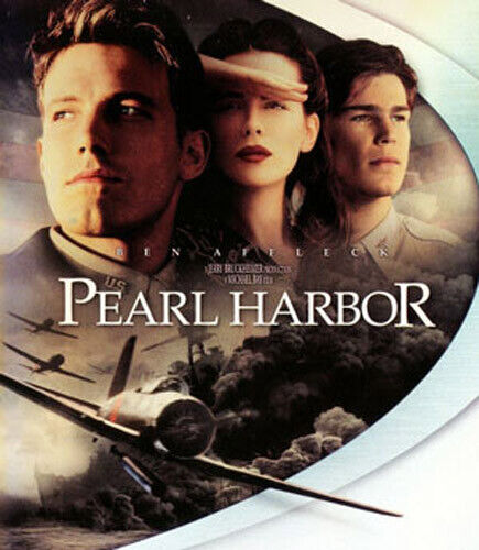 Pearl Harbor (2001) / History Channel: Unsung Heroes of Pearl Harbor BLU-RAY NEW