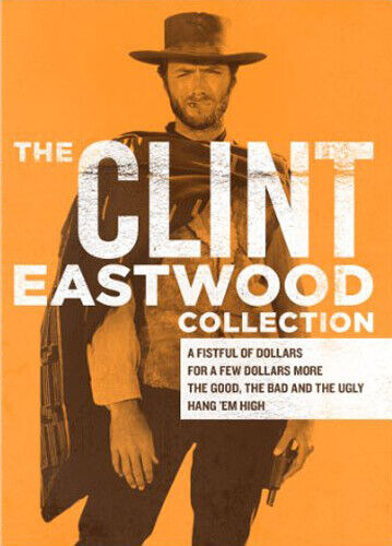 The Clint Eastwood Collection - 4 Movies (4 Disc) DVD NEW