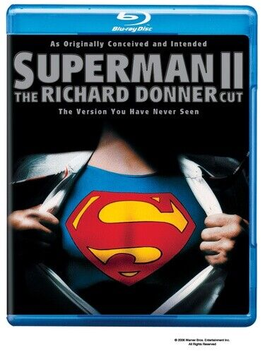 Superman 2: The Richard Donner Cut (1980 Christopher Reeve) BLU-RAY NEW