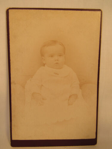 Antique Cabinet Card Photo Harding Artistic Susquehanna PA Pennsylvania