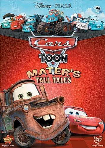 Cars Toon: Mater's Tall Tales DVD NEW