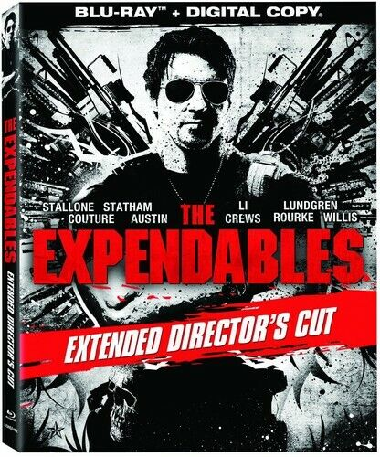 The Expendables (2010 Sylvester Stallone) (Directors Cut, Extended) BLU-RAY NEW