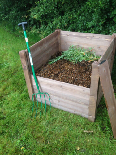 FSC Single Wooden Economy Compost Bin Composter End Of Stock