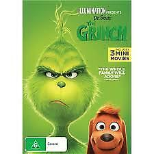 The Grinch (DVD,2019)