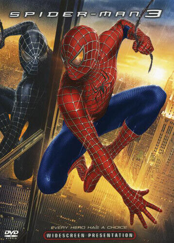 Spider-Man 3 DVD NEW