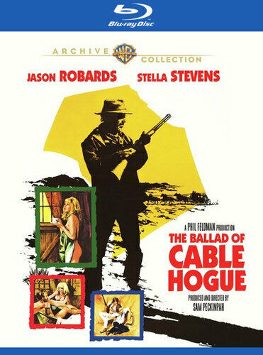 The Ballad of Cable Hogue BLU-RAY NEW