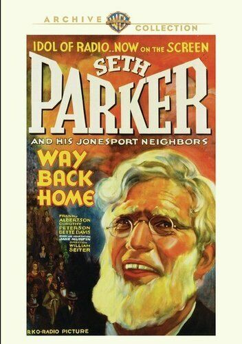 Way Back Home (1931) DVD NEW