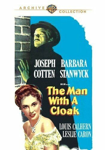 The Man with a Cloak (1951 Joseph Cotton) DVD NEW