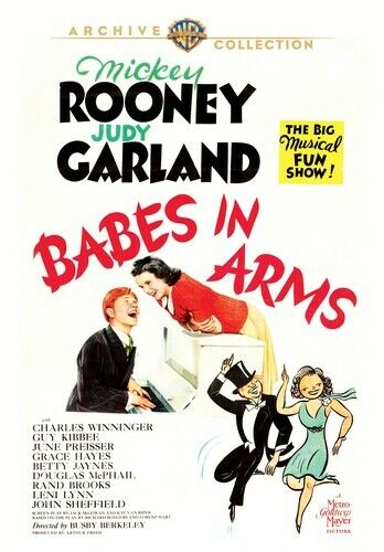 Babes in Arms (1939 Mickey Rooney Judy Garland) DVD NEW