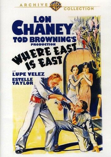 Where East is East (1929 Lon Chaney) DVD NEW