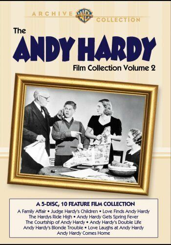 The Andy Hardy Film Collection: Volume 2: 10 Movies (5 Disc) DVD NEW