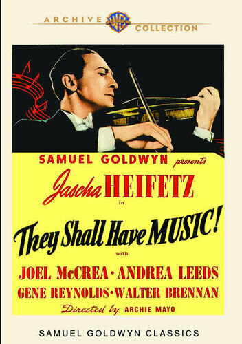 They Shall Have Music (1939) DVD NEW