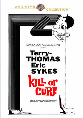 Kill or Cure (1962) DVD NEW