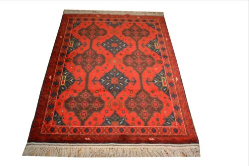 """Crafters&Weavers Oriental rug Tribal Vegetables Dyes size  3' 0"""" X 5' 0""""  # A 38"""