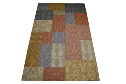 """Crafters&Weavers Oriental rug indian size 3' 0""""  x 5' 0""""  #2854"""